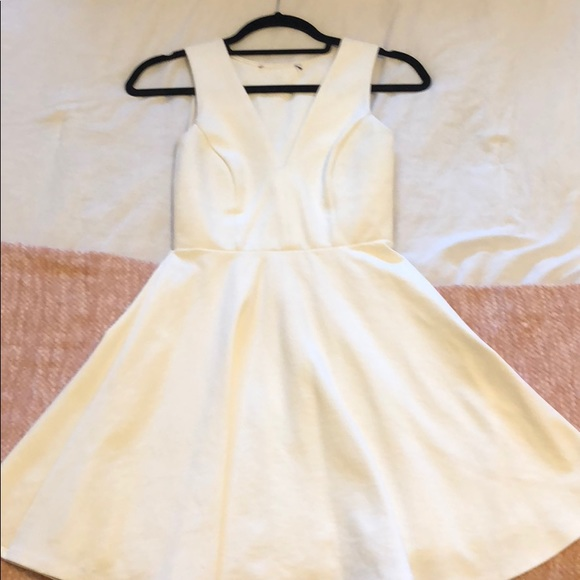 Lulu's Dresses & Skirts - Lulus white skater dress